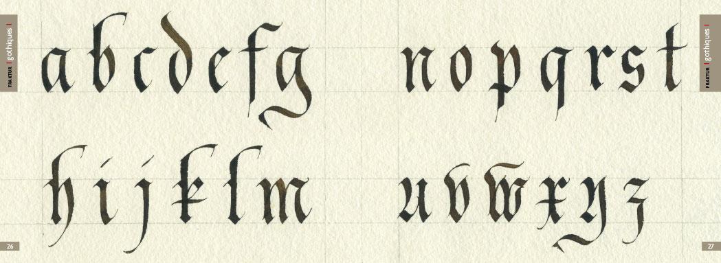 Calligraphie Lettre calligraphie la lettre authentique
