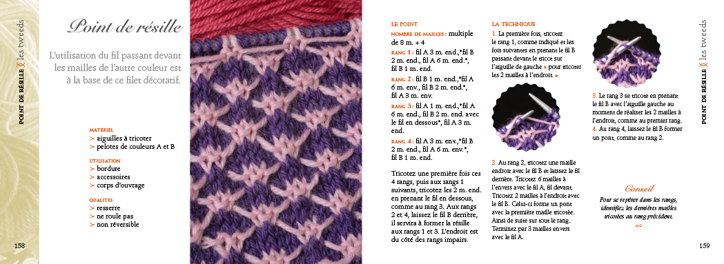 The Essential of crochet knitting pattern stitches